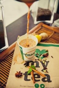 Hot cuppa of chai