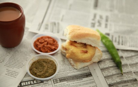 Vada pav, an all time favourite
